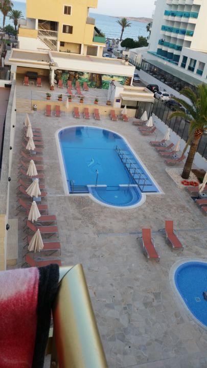 Vom Balkon  Hotel Biniamar