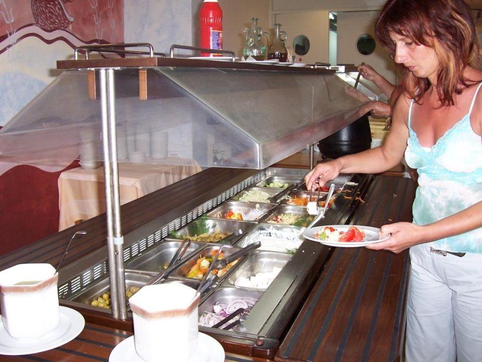 Salatbuffet Hotel Minos