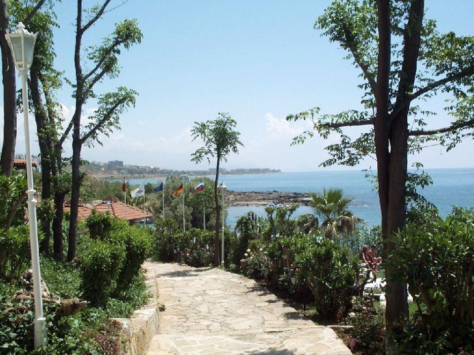 Der Weg zum Strand Numa Palma Hotel