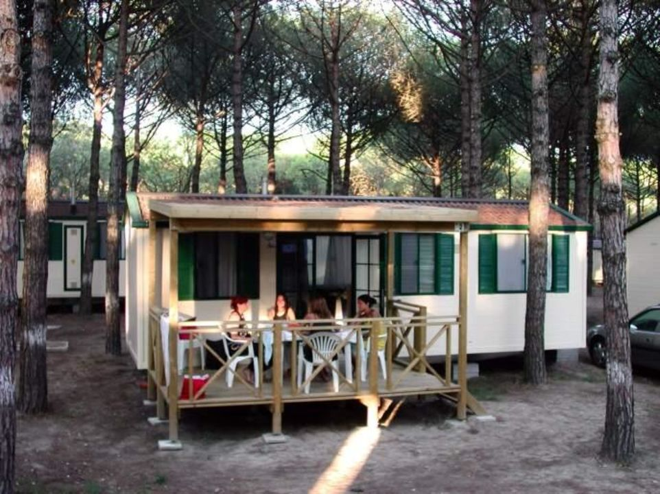 Mobilhome im Bungalow Park Camping Spina Camping & Bungalows Spina Villaggio