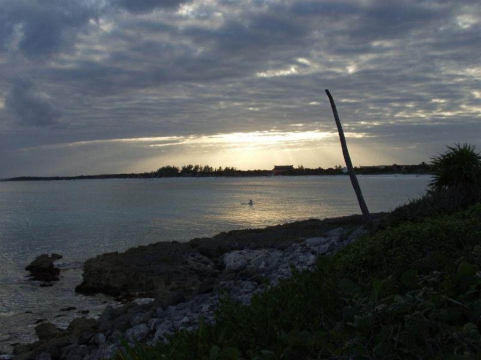 Sonnenuntergang Strand Bel Air Collection Resort & Spa Riviera Maya