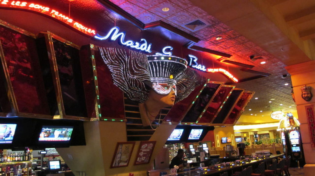 Bar im Casino The Orleans Hotel & Casino