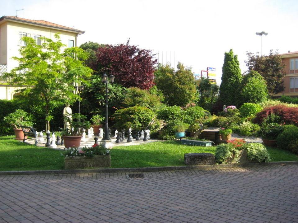 Gartenanlage Hotel Olympia Terme