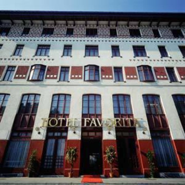 Außenansicht Hotel Favorita  (geschlossen)
