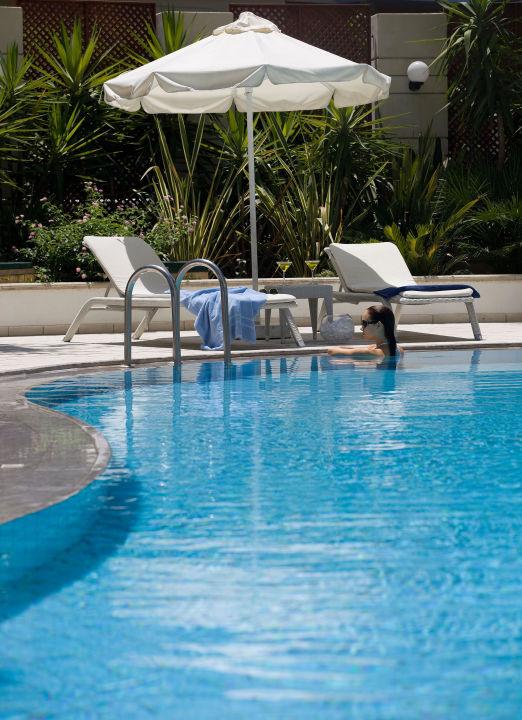 Outdoor Pool Hotel Aquila Porto Rethymnon Rethymno Holidaycheck Kreta Griechenland