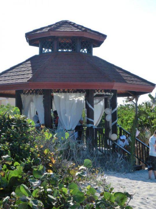 Hochzeitspavillon direkt am Strand Grand Memories Varadero