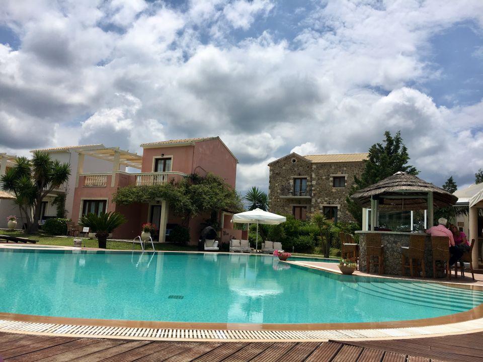 Pool Almyros Villas Resort