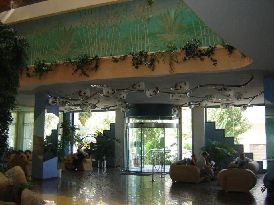Eingang Hotel Kaktus Albir