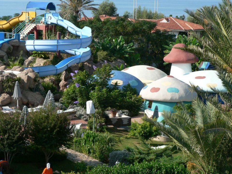 Blick auf das Reich der Kleinsten Belconti Resort Hotel