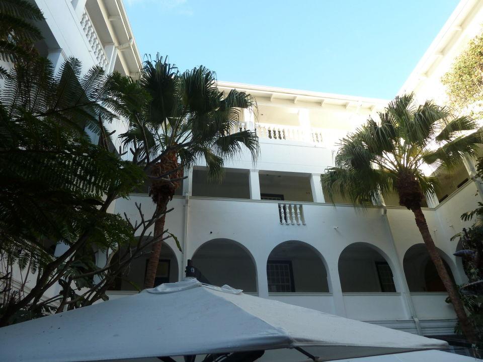 Innenhof Hotel Winchester Mansions