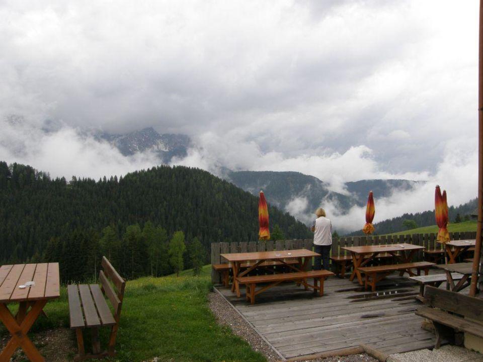 Ausblick Naturpark Hotel Stefaner