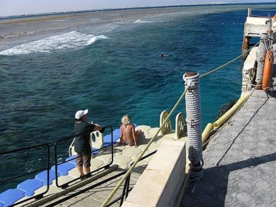 Einstiegsplattform Titanic Beach Spa & Aqua Park
