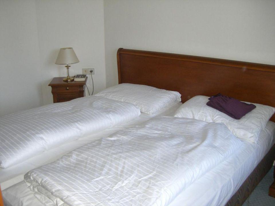 Schlafzimmer Hotel Panhans