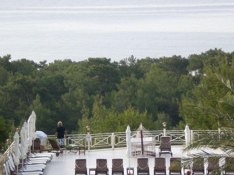 Aussicht aus dem Zimmer Castle Resort & Spa Hotel Sarigerme