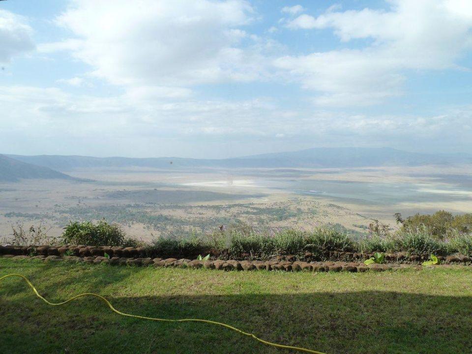 Blick auf Ngorongoro Crater Hotel Ngorongoro Wildlife Lodge
