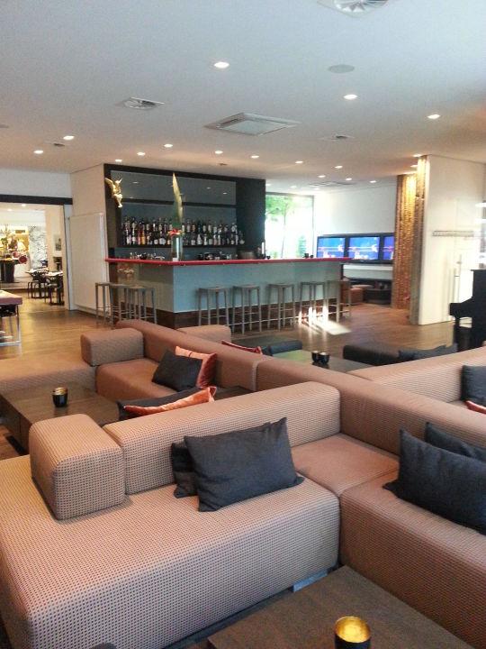 Bar Mit Sitzgelegenheiten Art Business Hotel Nürnberg