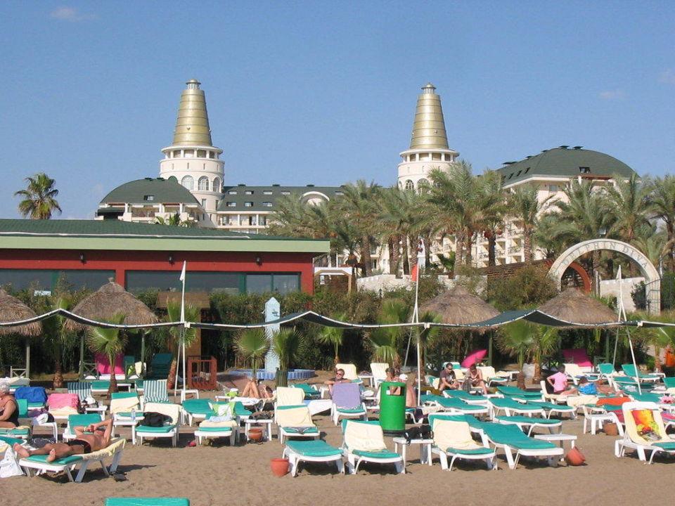 Aufnahme vom Strand Hotel Delphin Diva