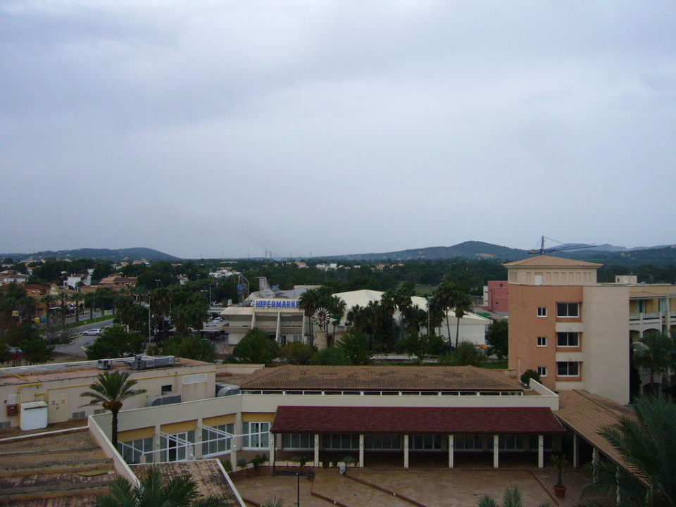 Landseitenblick allsun Hotel Orient Beach