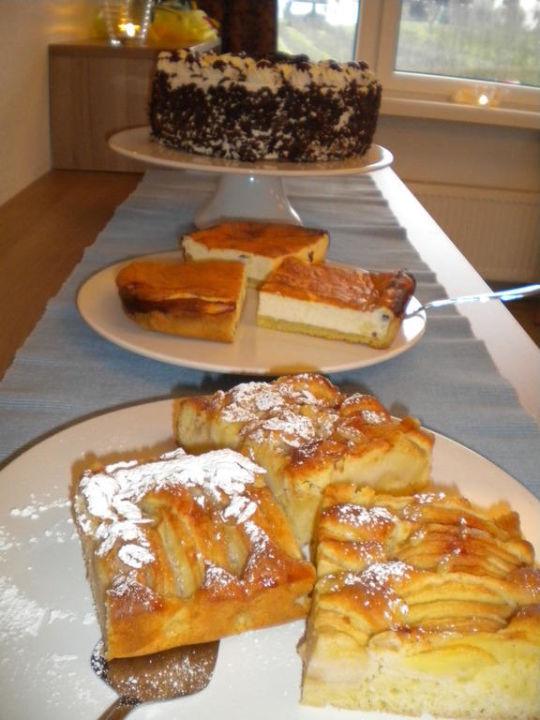 Hausgemachte Kuchen und Torten Hotel St. Fridolin