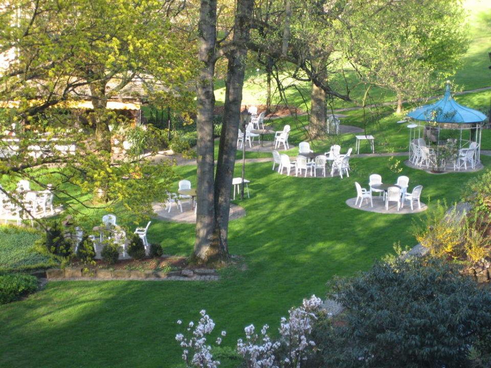 Der wunderschöne Garten Hotel Talmühle