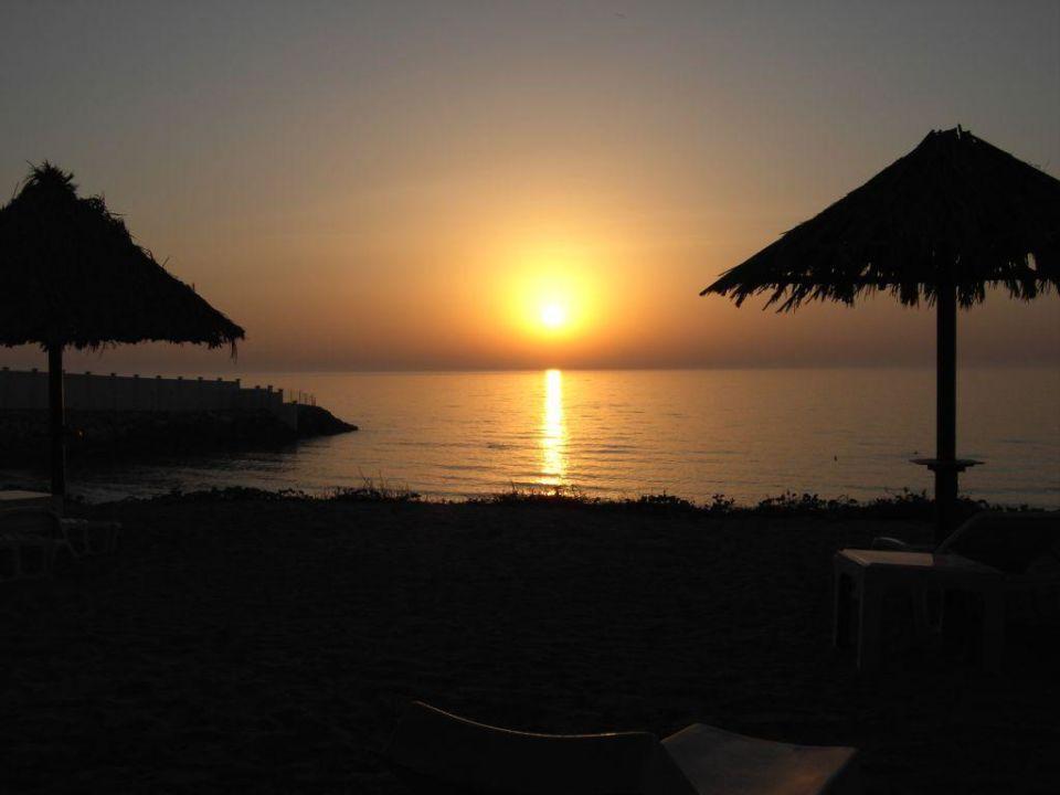 Sonnenuntergang Bin Majid Hotel