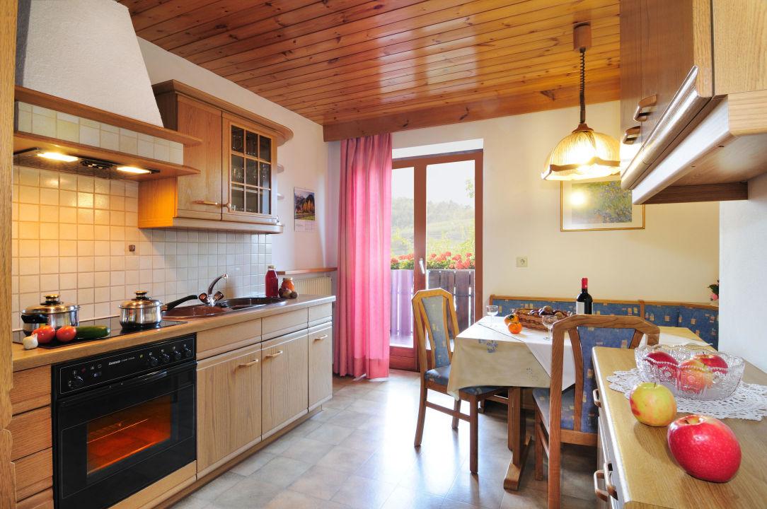 Küche Ferienwohnung Nr. 8 Geranienhof