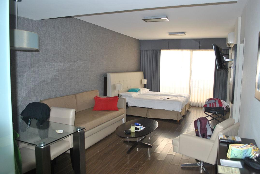 Appartment, Schlaf- und Wohnbereich Hotel Ayres de Recoleta Plaza
