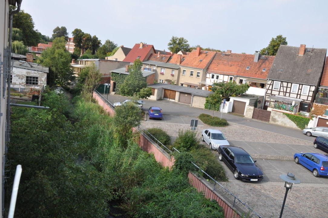 Blick aus unserem Fenster Hotel & Boardinghouse Deutscher Kaiser