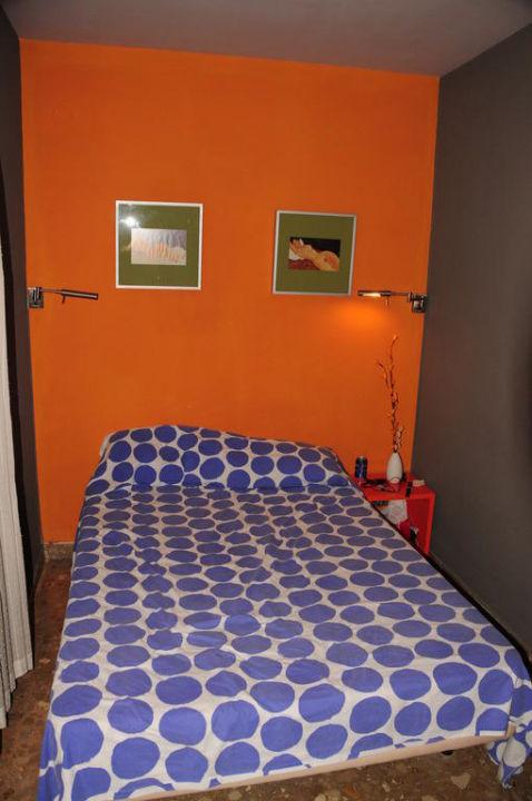 Bettnische des Zimmers Hotel Domus