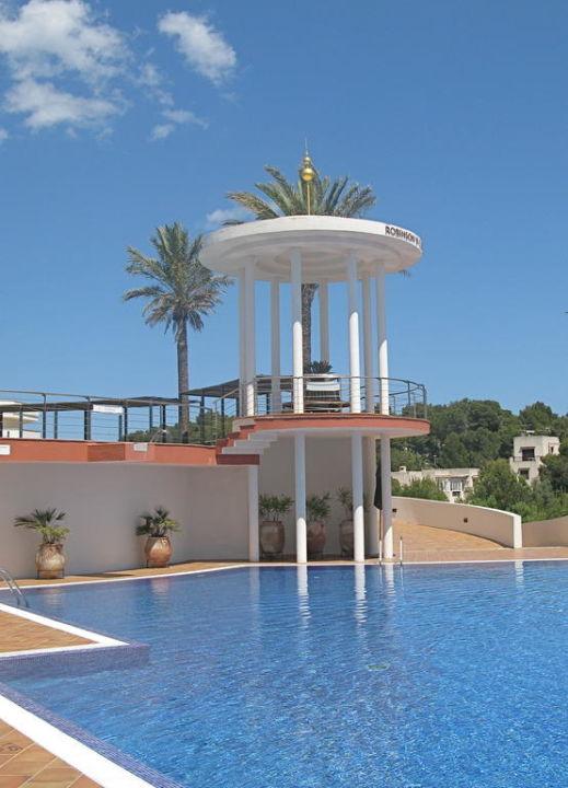 Blick auf den Pool ROBINSON CLUB CALA SERENA