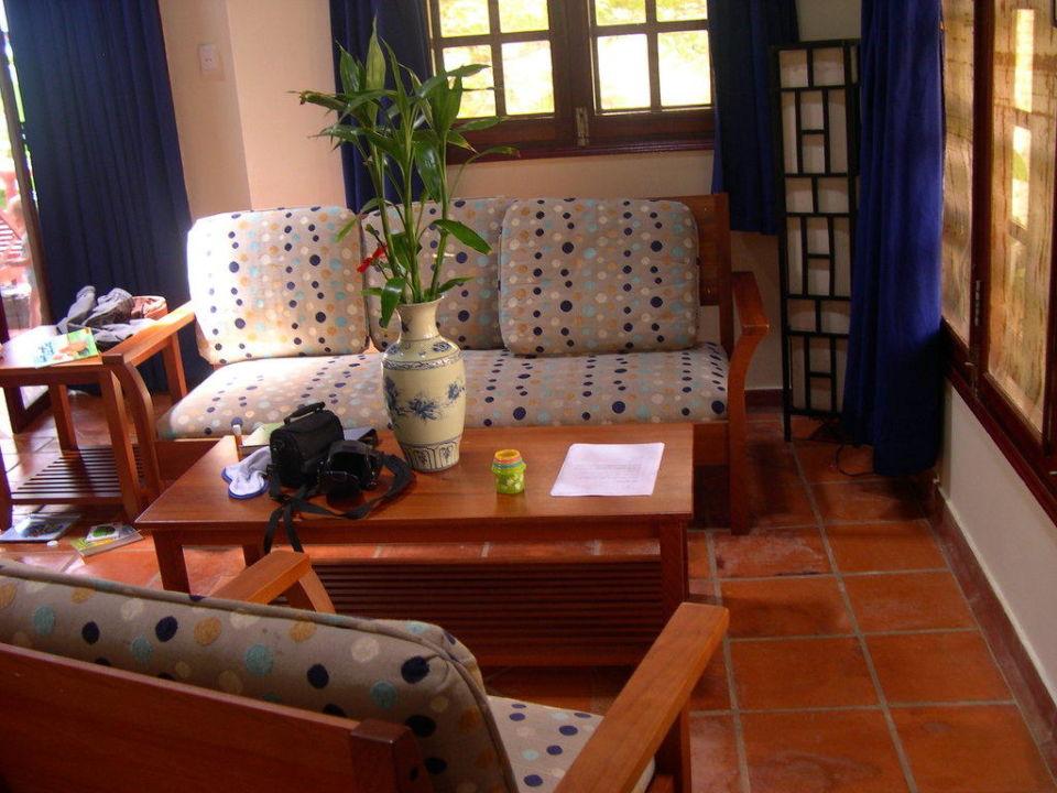 Wohnzimmer Hotel Cassia Cottages