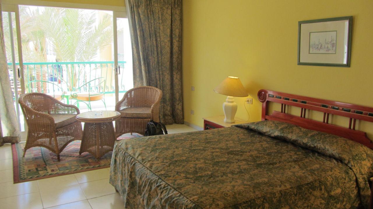 Blick auf das Riff Bel Air Azur Resort