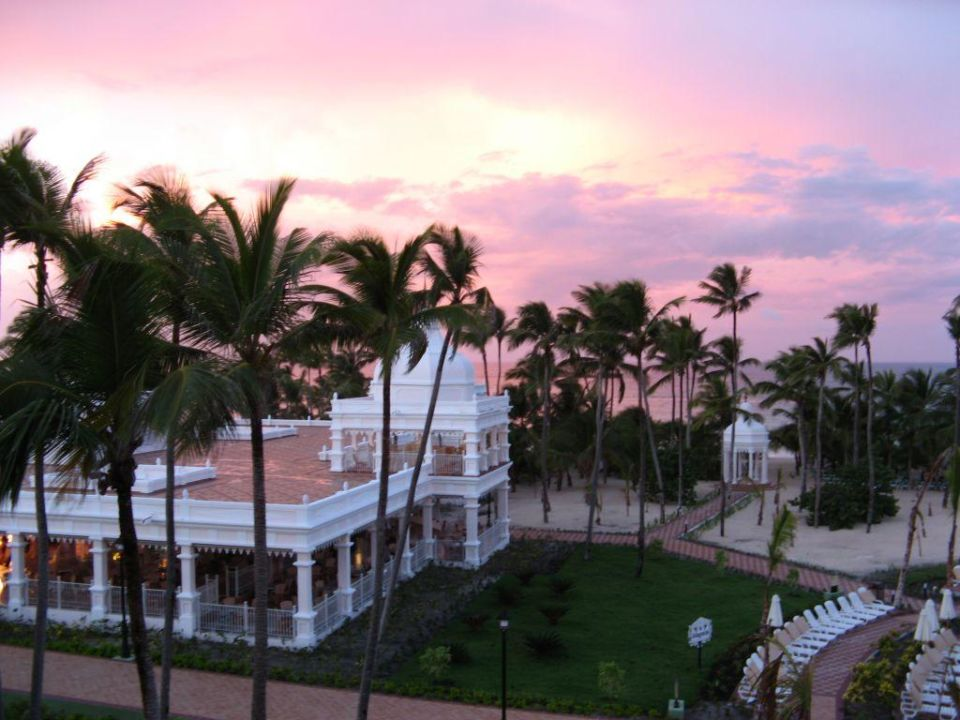 Abendstimmung Hotel Riu Palace Punta Cana