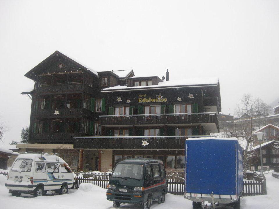 Hotelfront Hotel Edelweiss