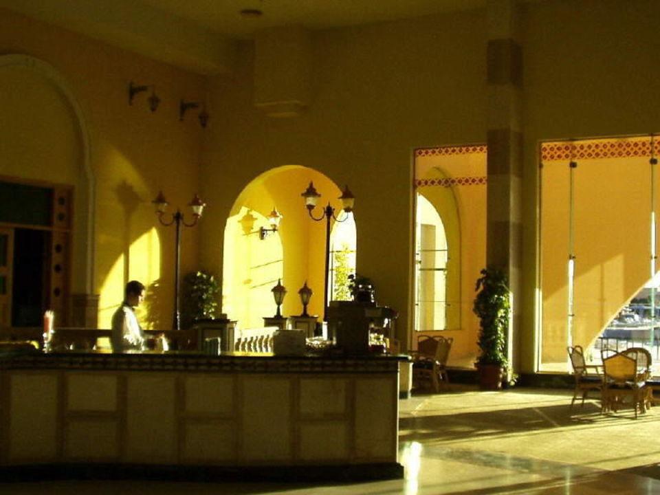 Hotellobby im Ali Baba Hotel Ali Baba Palace