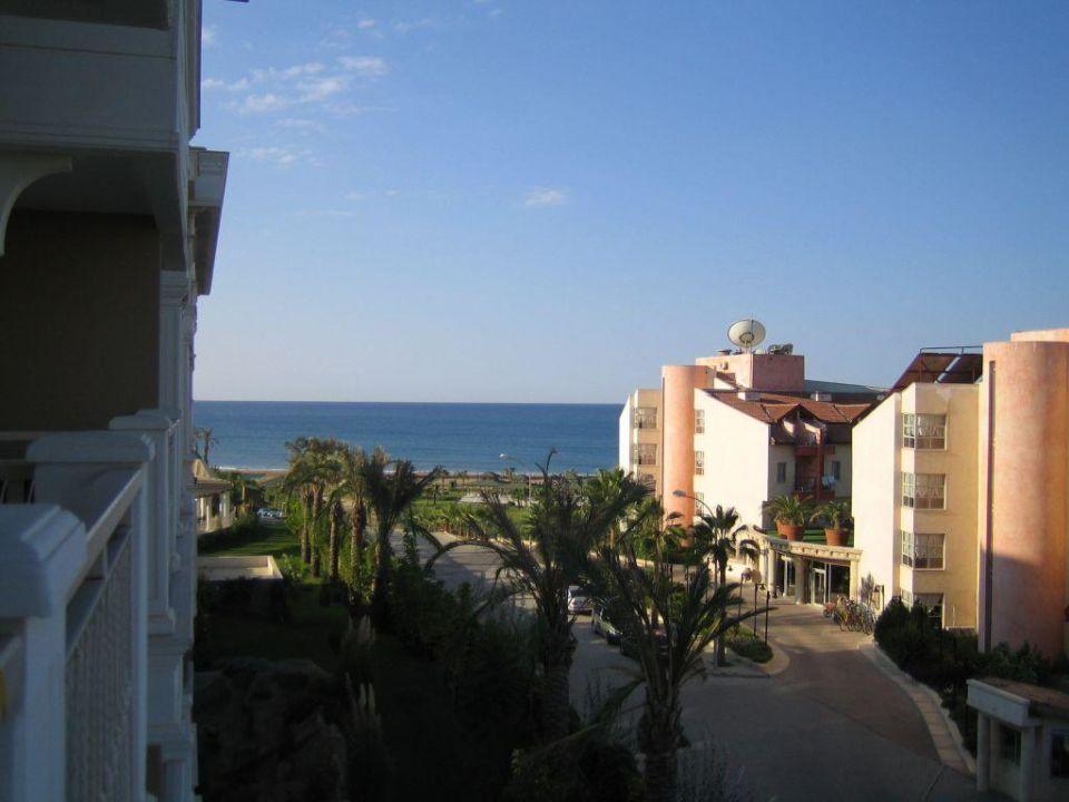 Ausblick aus dem Zimmer Trendy Aspendos Beach Hotel