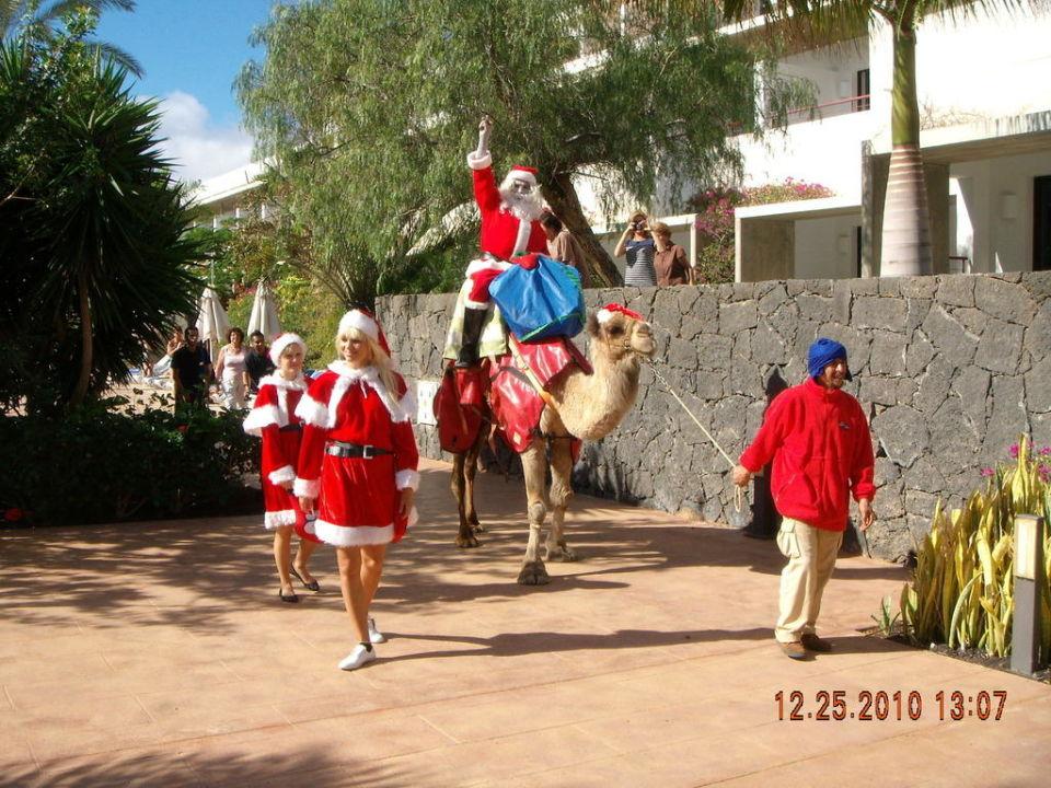 """Spanien Weihnachten animationsteam an weihnachten"""" hotel costa calero (puerto calero"""