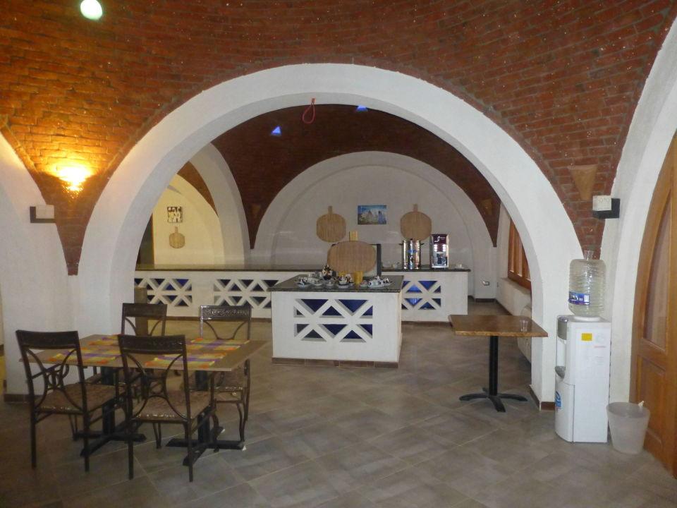 Buffetfläche und Station Kaffee/Tee/Wasser Aurora Beach Safari Resort