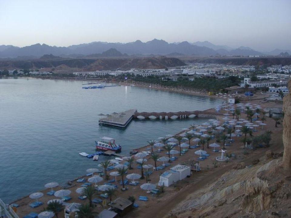 Blick auf Sharm el Sheik vom Hotel Beach Albatros Resort Sharm El Sheikh (geschlossen)