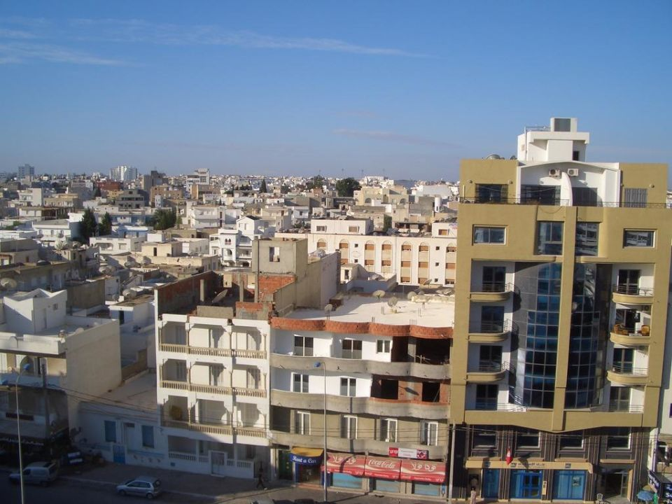 Ausblick Hotel Chems El Hana