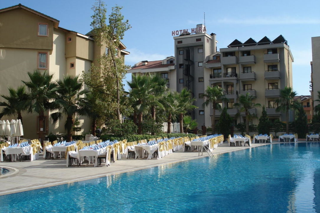 Het mooie grote zwembad Hotel Side Star Park