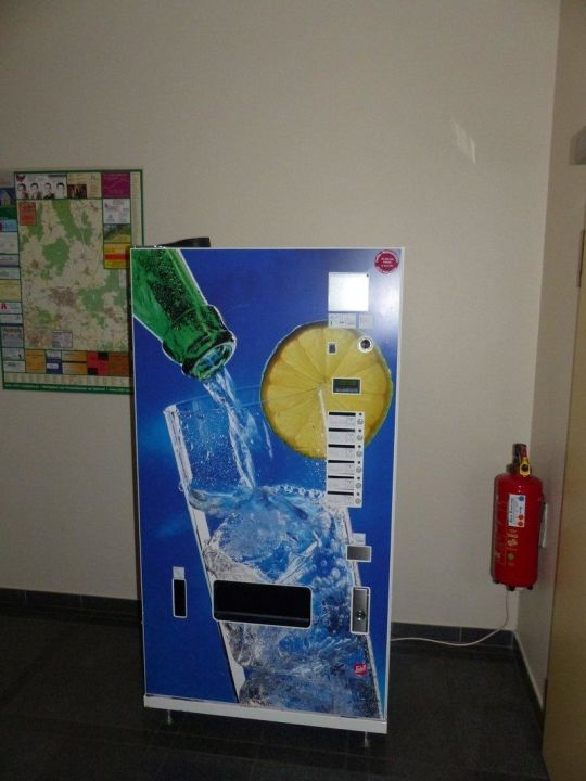 Getränkeautomat im Erdgeschoss Altstadthotel Kneitinger