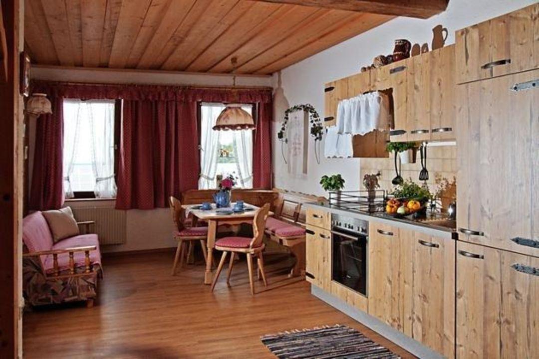 Gemutliche Wohnkuche Schone Aussicht Bauernhof