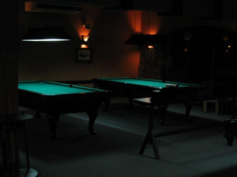 Sept. 2005 Billiardzimmer Giftun Azur Resort