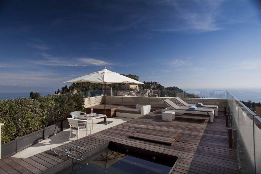 Terrace Suite - terrazza privata\