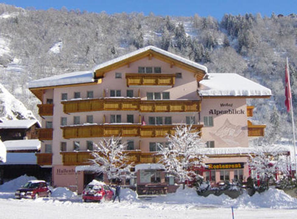 Das Hotel Alpenblick im Winter Alpenblick Wellnesshotel