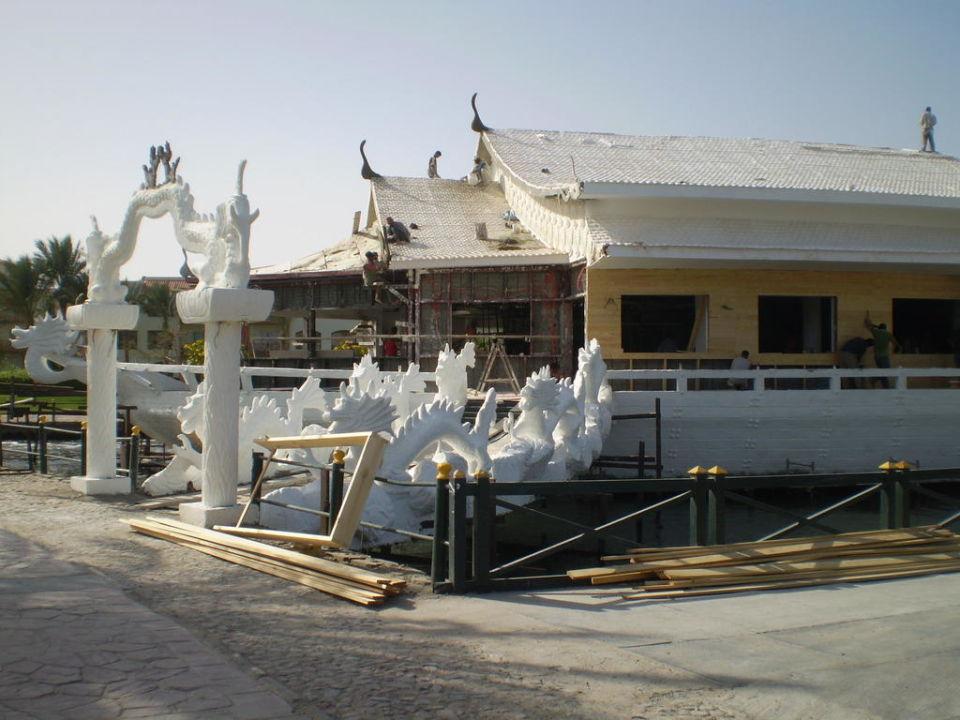 Bau des Asia Restaurants Dana Beach Resort