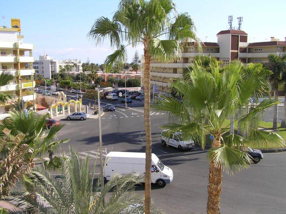 Verteilerkreis vor dem Don Miguel Hotel Riu Don Miguel - Adults only