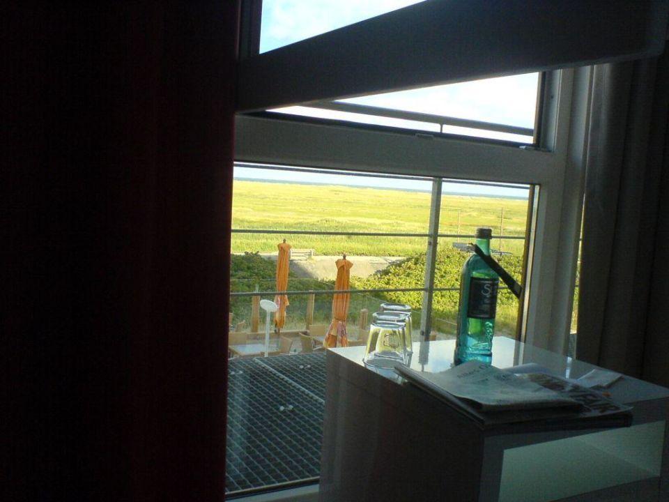 Ausblick Vom Bett Morgens Um Sieben Strandgut Resort St Peter