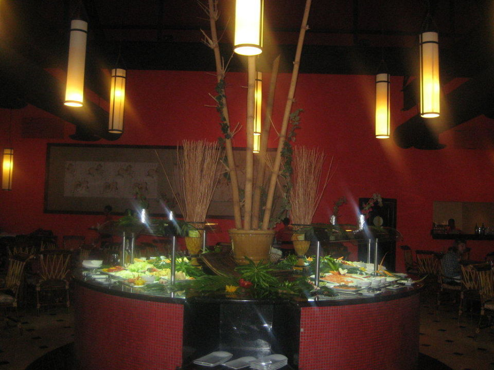 Bamboo Resaurant Asiatisch Grand Palladium Bávaro Suites Resort & Spa